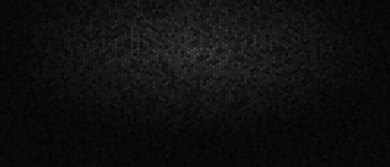 Obraz dark-abstract-background-with-honeycomb-hexagons - fototapety do salonu
