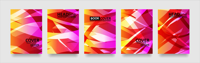 Obraz abstract wave background with gradient color. Applicable for design cover presentation invitation flyer annual report poster and business card desing packaging - Vector - fototapety do salonu