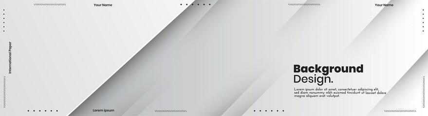 Fototapeta Abstract banner design web templates, horizontal header web banner. Modern abstract cover header background for website design, Social Media Cover advertising banner, flyer, invitation card obraz