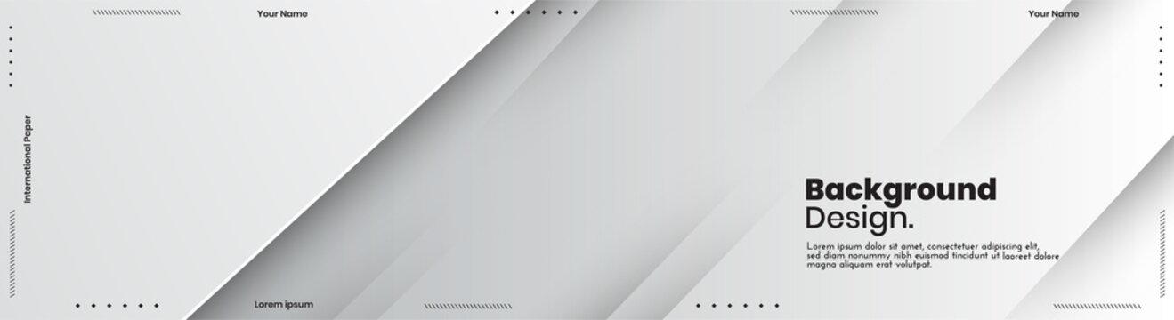 Abstract banner design web templates, horizontal header web banner. Modern abstract cover header background for website design, Social Media Cover advertising banner, flyer, invitation card