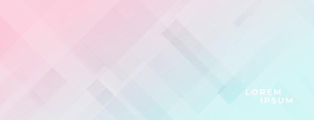 Fototapeta pastel colors elegant light banner design obraz