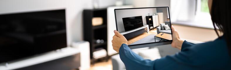 Fototapeta Real Estate House Virtual Tour obraz