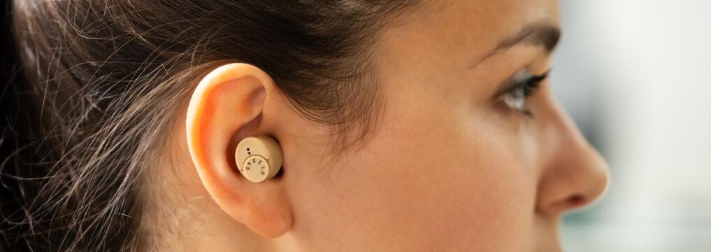 Hearing Aid Deaf Ear Audiology
