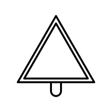Yield Vector Line Icon Design