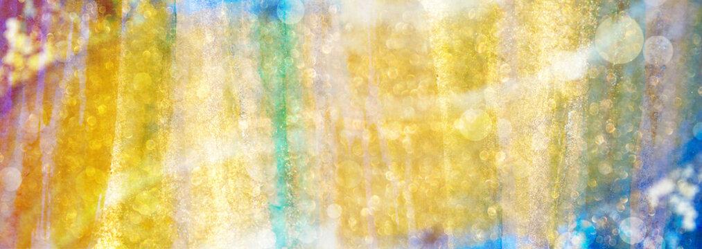 Hintergrund abstrakter Lichtvorhang