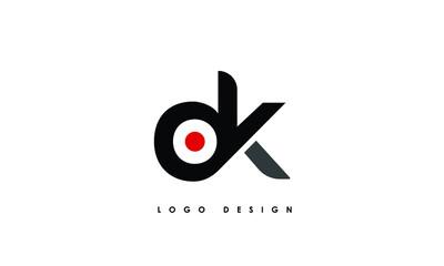 Obraz Alphabet letters Initials Monogram logo OK, KO, O and K - fototapety do salonu