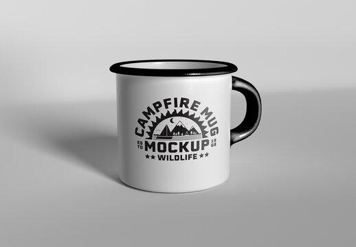Camping Mug Mockup