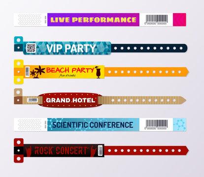 Wristbands Bracelets ID Set