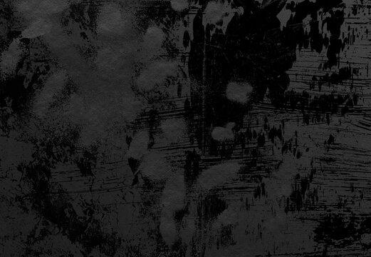 背景 テクスチャ 和紙 和風 フレーム 年賀状 正月 壁紙  黒 ブラック グランジ かすれ スプレー ペイント アート