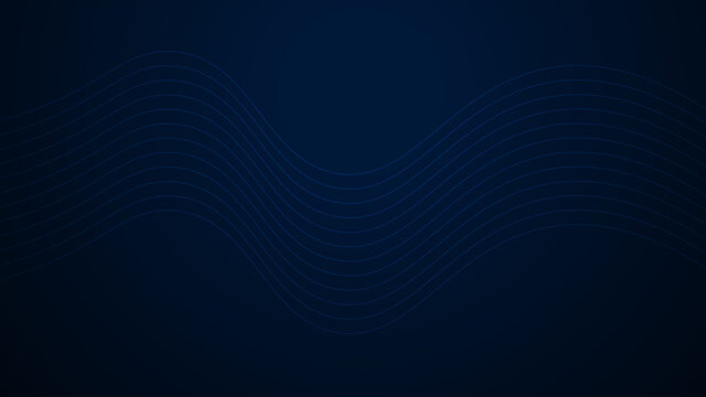 Technology networking wave vector background. With abstract blue lines for website, banner and brochure, Curve flow motion illustration, Vector lines, Modern and colorful data lap design wallpaper.