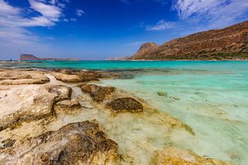 Fototapeta Błękitna laguna obraz