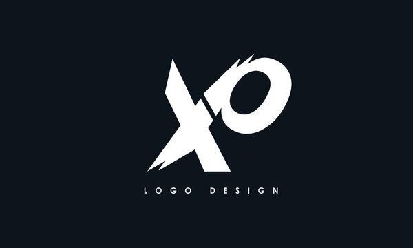 Alphabet letters Initials Monogram logo XP, PX, X and P