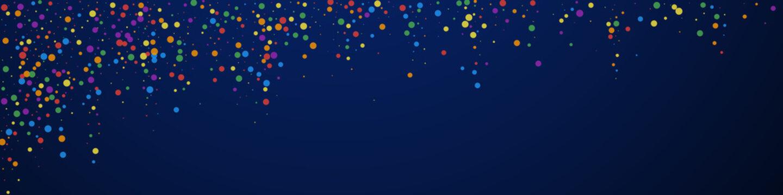 Festive classy confetti. Celebration stars. Colorf