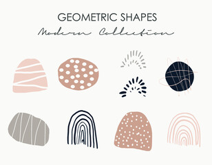 Fototapeta Geometric Shapes for backgrounds, invites, card design, branding, sketching or any graphic projects! Modern collection. obraz