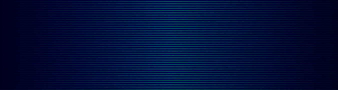 Abstract wide striped lined horizontal glowing background