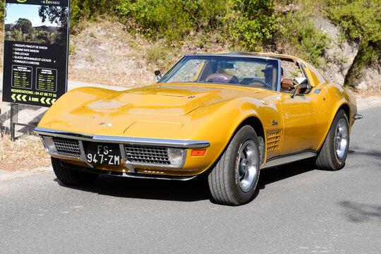 Chevrolet Corvette C3 Stingray Car vintage racing car