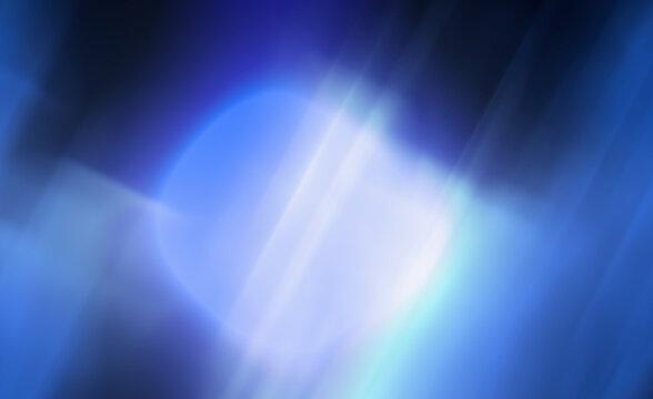Abstract dark blue widescreen art background