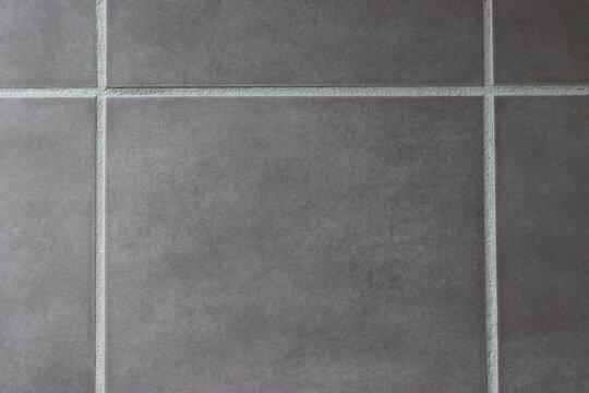fond avec carrelage gris