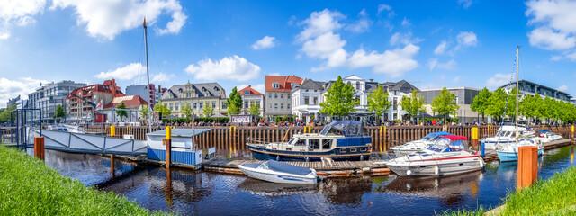 Fototapeta Hafen, Oldenburg, Niedersachsen, Deutschland  obraz