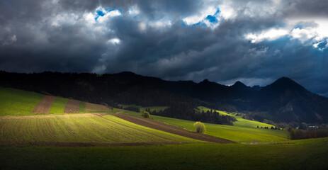 Fototapeta Słoneczne Wiosenne  Pieniny  obraz