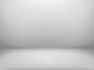 Fototapeta Abstract Studio room background. White studio backdrop. obraz