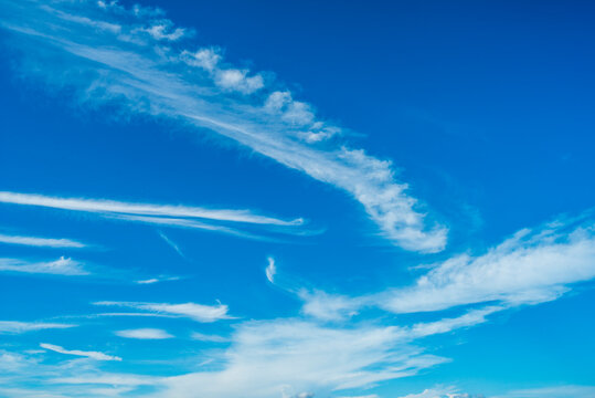 \Clouds on the blue sky