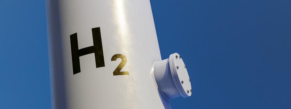 modern hydrogen tank for renewable energy
