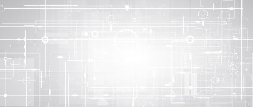 abstract futuristic circuit computer internet technology board business dark background