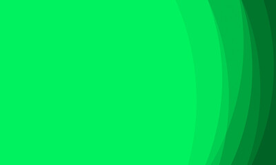 Obraz Abstract geometric green curve line gradient Background.For ecology concept design technology and modern. - fototapety do salonu