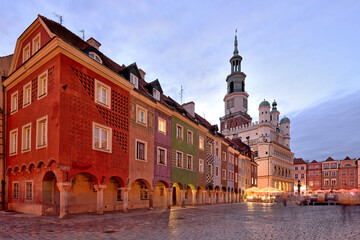Obraz Market square, Poznan, Poland - fototapety do salonu