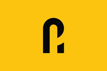 Obraz AP letter logo design on luxury background. PA monogram initials letter logo concept. AP icon design. PA elegant and Professional letter icon design on black background. AP PA - fototapety do salonu