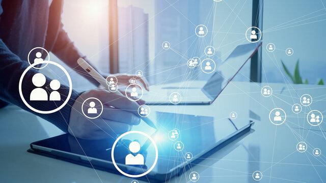 人とネットワーク 人材管理システム人とネットワーク