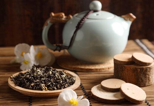 Studio photo of a tea pot