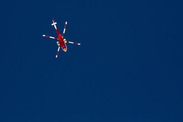 Obraz Helikopter - fototapety do salonu
