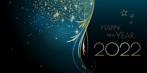 Fototapeta Happy New year 2022 obraz
