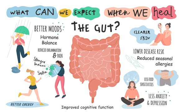 What can we expect when we heal the gut