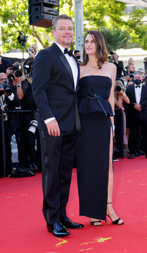 """The 74th Cannes Film Festival - Screening of the film """"Stillwater"""" Out of competition - Red Carpet Arrivals"""