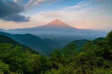 Mountain View Of Mt Fuji Fototapete