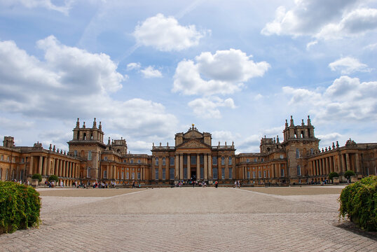 The Magnificent Blenheim Palace Is The Ancestral Home Of Sir Winston Churchill
