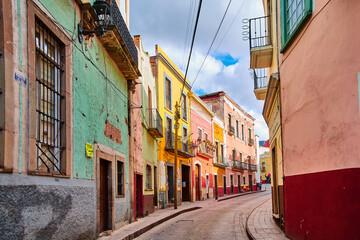 colourful streets of Guanajuato