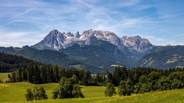 Landschaft Werfen und Werfenweng - Österreich