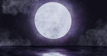 Image of moon in night sky