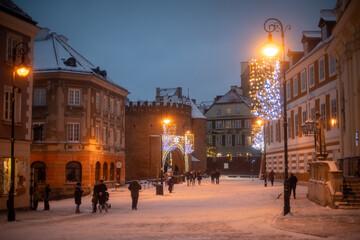 Fototapeta Warsaw, Poland, Warszawa, Polska. obraz