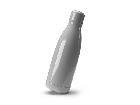 Drinking Tumbler Bottle 3D Illustration Mockup Scene