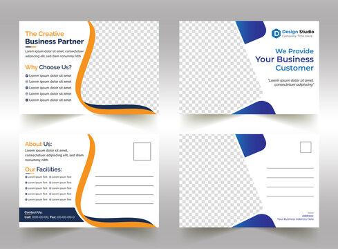promotional eddm postcard, poster, flyer design