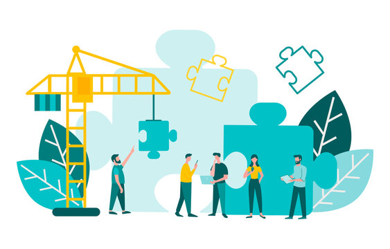 Teamwork Effective business strategy bulding