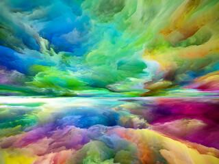 Fototapeta Energy of Heaven and Earth obraz