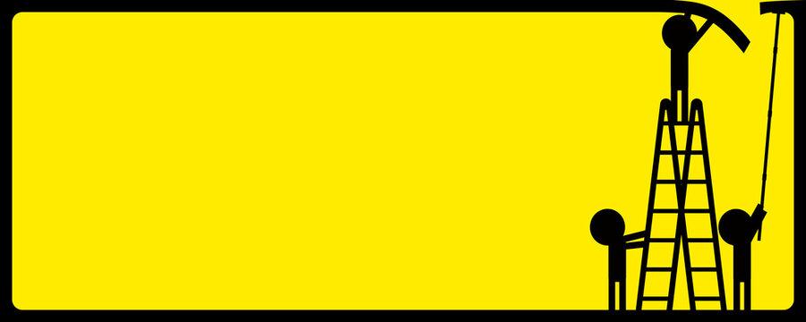 yellow label vector art design