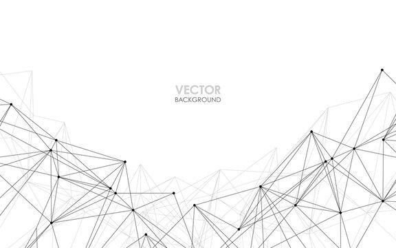 ネットワークイメージ ベクター素材