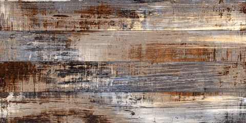 multi color brown red  wooden planks panted rough wood texture aqua blue unique wooden wall...